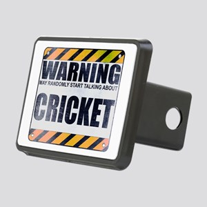 Warning: Cricket Rectangular Hitch Cover