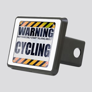 Warning: Cycling Rectangular Hitch Cover
