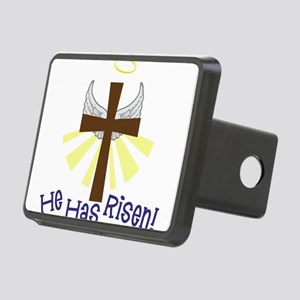 He Has Risen Rectangular Hitch Cover