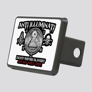 illuminati new world order Rectangular Hitch Cover
