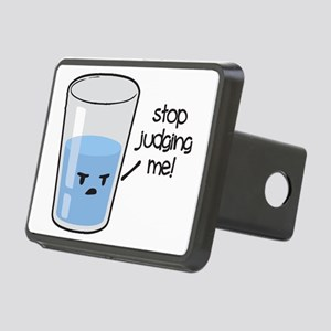 Stop Judging Me Rectangular Hitch Cover