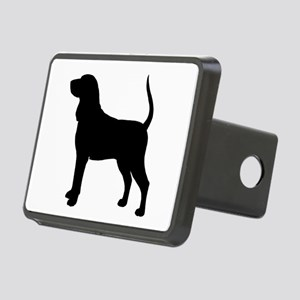 Black & Tan Coonhound Rectangular Hitch Cover
