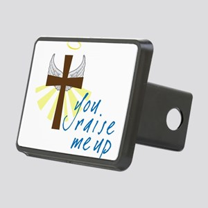 You Raise Me Up Rectangular Hitch Cover