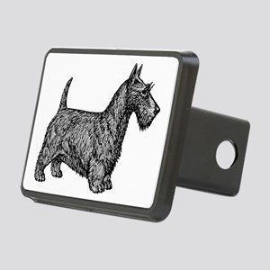 Scottish Terrier Rectangular Hitch Cover
