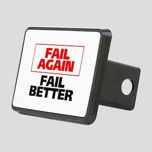 Fail Better Rectangular Hitch Cover