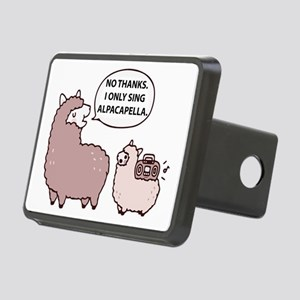 Acapella Humor Rectangular Hitch Cover