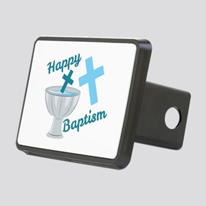 Happy Baptism Hitch Cover