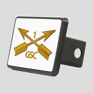 GSC - 1st SFG Branch wo Tx Rectangular Hitch Cover