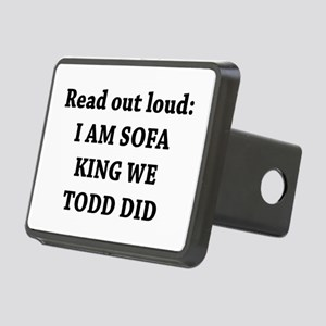 I Am Sofa King Re Todd Did Rectangular Hitch Cover