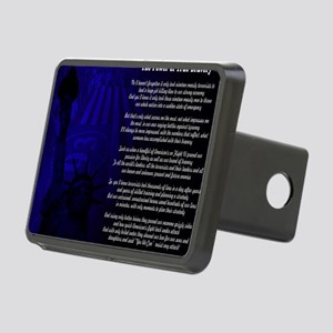 The Power of True Bravery  Rectangular Hitch Cover