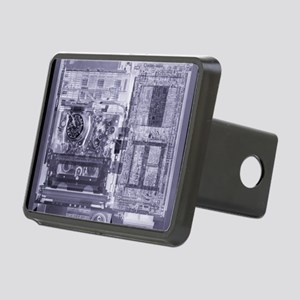 Video recorder, simulated  Rectangular Hitch Cover