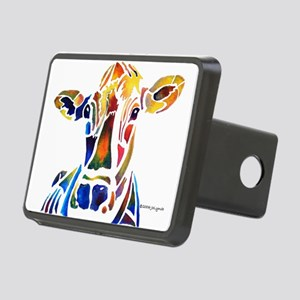 cow4Cafe Rectangular Hitch Cover