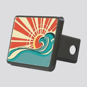 wave at dawn Hitch Cover