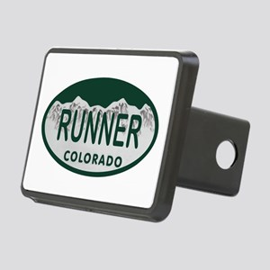 Runner Colo License Plate Rectangular Hitch Cover