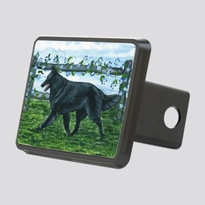 bel shep fence Rectangular Hitch Cover