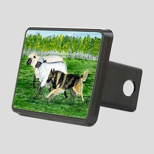 bel terv herd Rectangular Hitch Cover