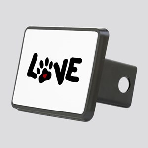 Love (Pets) Rectangular Hitch Cover