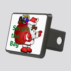 secure the bag santa Rectangular Hitch Cover