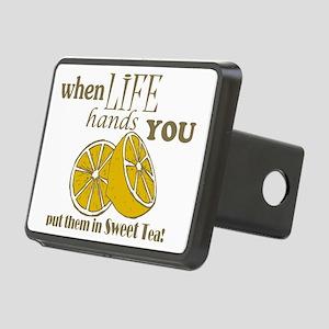 When Life Hands You Lemons Rectangular Hitch Cover