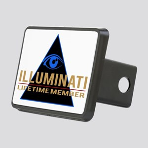 Illuminati Member T-shirt Rectangular Hitch Cover