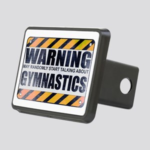 Warning: Gymnastics Rectangular Hitch Cover