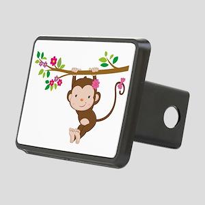 Swinging Baby Monkey Rectangular Hitch Cover