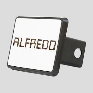 Alfredo Circuit Rectangular Hitch Cover