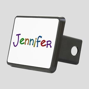 Jennifer Play Clay Rectangular Hitch Cover