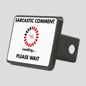 sarcasm Rectangular Hitch Cover