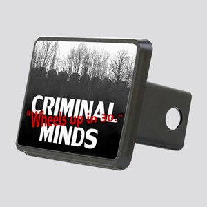 Criminal Minds Up In 30 Rectangular Hitch Cover