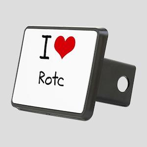 I Love Rotc Hitch Cover