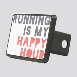 Running Is My Happy Hour Hitch Cover