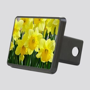 Trumpet Daffodil Rectangular Hitch Cover