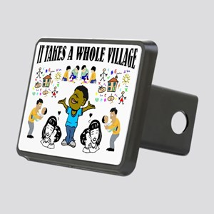 African American Rectangular Hitch Cover