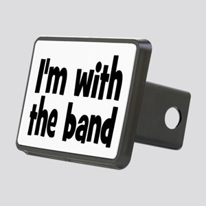I'M WITH THE BAND Rectangular Hitch Cover