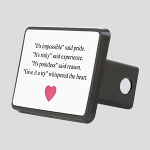 GIVE IT A TRY... Rectangular Hitch Cover