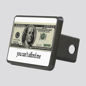 You Cant Afford Me Rectangular Hitch Cover