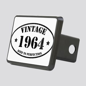 Vintage Aged to Perfection Rectangular Hitch Cover