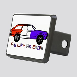 FlyLikeAnEagle Rectangular Hitch Cover