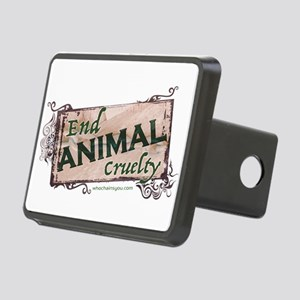 End Animal Cruelty Hitch Cover
