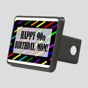 90th Birthday For Mom Rectangular Hitch Cover