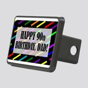 90th Birthday For Dad Rectangular Hitch Cover