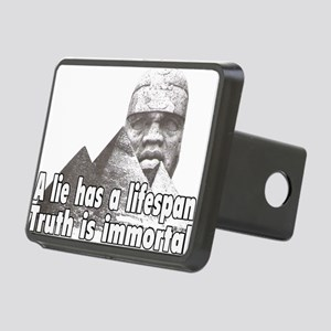 Black History truth Rectangular Hitch Cover