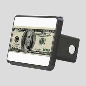 100 Dollar Bill Rectangular Hitch Cover