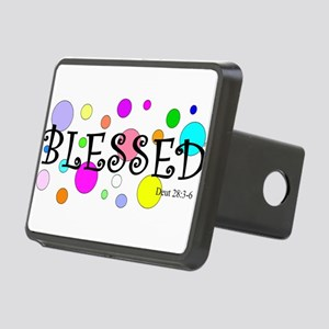 Blessed Rectangular Hitch Cover