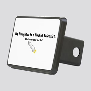 daughter_black Rectangular Hitch Cover