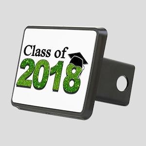 Class of 2018 Glitter Hitch Cover