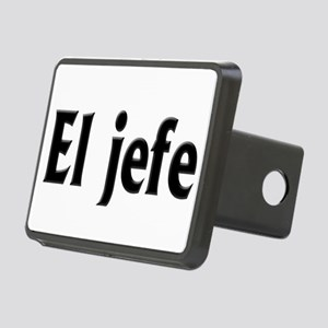 El jefe (The Boss) Rectangular Hitch Cover
