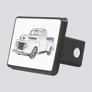 1950 Ford F1 Rectangular Hitch Cover