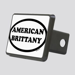 aMERICAN BRITTANY SHIRT dark Rectangular Hitch